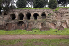 Collina del Palatine - di Roma - entrata Immagine Stock