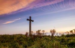 Collina della chiesa, Alnmouth Immagini Stock Libere da Diritti