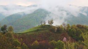 Collina della montagna archivi video