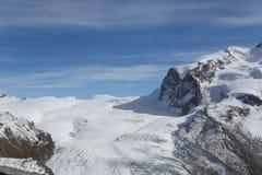 Collina della neve Fotografie Stock