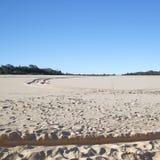 Collina della sabbia di Tangalooma immagini stock