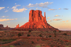 Collina della valle del monumento Fotografia Stock Libera da Diritti