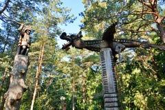 Collina delle streghe Juodkranté lithuania Fotografia Stock Libera da Diritti