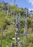 Collina delle traverse Fotografia Stock Libera da Diritti