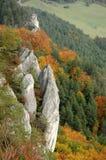 Collina di autunno Fotografie Stock Libere da Diritti