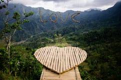 Collina di Bejagan alla montagna di Muria fotografie stock libere da diritti