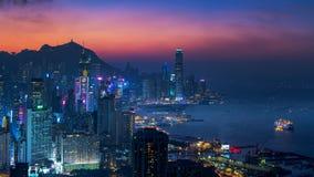 Collina di Braemar, Hong Kong immagine stock