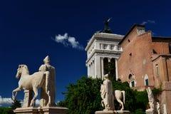 Collina di Capitoline a Roma Immagini Stock