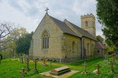 Collina di Crockham, Risonanza, Regno Unito r Chiesa di trinit? santa immagine stock libera da diritti