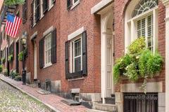Collina di falò a Boston Fotografia Stock Libera da Diritti