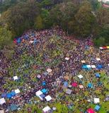 Collina di hippy 420 Immagini Stock