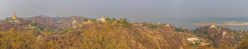 Collina di Mandalay immagini stock libere da diritti