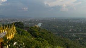 Collina di Mandalay immagini stock