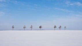 Collina di Marchen (collina) di fiabe, Hokkaido, Giappone Immagine Stock Libera da Diritti