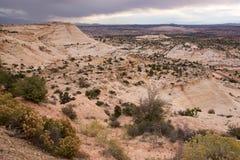 Collina di Moki, Utah, U.S.A. Fotografia Stock Libera da Diritti
