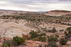 Collina di Moki, Utah, U.S.A. Immagine Stock Libera da Diritti