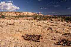 Collina di Moki, Utah, U.S.A. Immagine Stock
