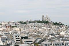 Collina di Monmartre Fotografia Stock Libera da Diritti