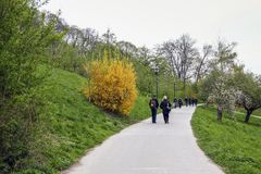Collina di Petrin, Praga immagine stock libera da diritti