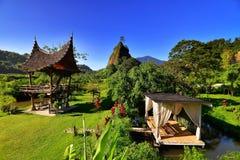 Collina di Takuruang la maggior parte di bei posti da visitare in Indonesia fotografia stock libera da diritti