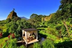 Collina di Takuruang la maggior parte di bei posti da visitare in Indonesia immagine stock libera da diritti