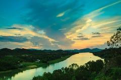Collina di Vong Canh del punto di vista Immagine Stock