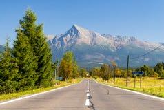Collina Krivan in alta montagna di Tatras, Slovacchia Immagini Stock