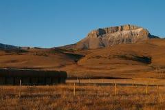 Collina, Montana, U Immagine Stock