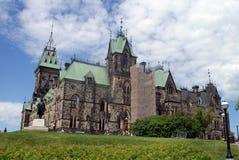 Collina Ottawa del Parlamento Fotografia Stock