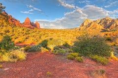 Collina Rd di AZ-Sedona-Scnebly. - Traccia di Huckaby Fotografia Stock
