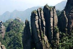 Collina rocciosa alta Immagine Stock