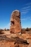 Collina rotta, simposio della scultura, Australia Fotografie Stock