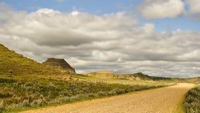 Collina Saskatchewan del castello Immagini Stock Libere da Diritti