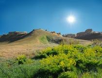 Collina sul plateau Ustyurt Immagine Stock Libera da Diritti