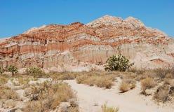 Collina vicino al Mojave, California Fotografie Stock Libere da Diritti
