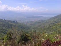 COLLINE DE KHAYANGAN, INDONÉSIE Image libre de droits