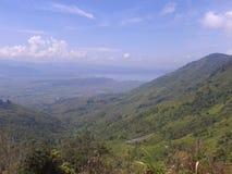 COLLINE DE KHAYANGAN, INDONÉSIE Photos libres de droits