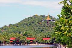 Colline de Mandalay, Mandalay, Myanmar Photographie stock