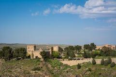 Colline de Toledo, Espagne Images libres de droits