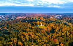 Colline de trois croix à Vilnius images libres de droits