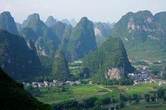 Colline del calcare, Cina Immagine Stock