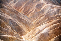 Colline del Death Valley Fotografie Stock Libere da Diritti