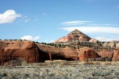 Colline del New Mexico Fotografia Stock