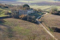 Colline della Toscana Immagini Stock Libere da Diritti