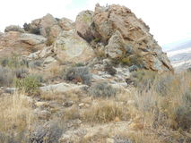 Colline della valle Fotografia Stock Libera da Diritti