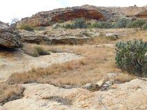 Colline della valle Fotografia Stock