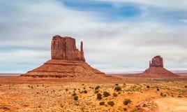 Colline della valle del monumento Fotografia Stock