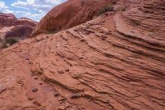 Colline des couches de roche photo libre de droits