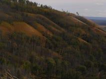 Colline di autunno Fotografie Stock