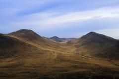 Colline di autunno fotografie stock libere da diritti